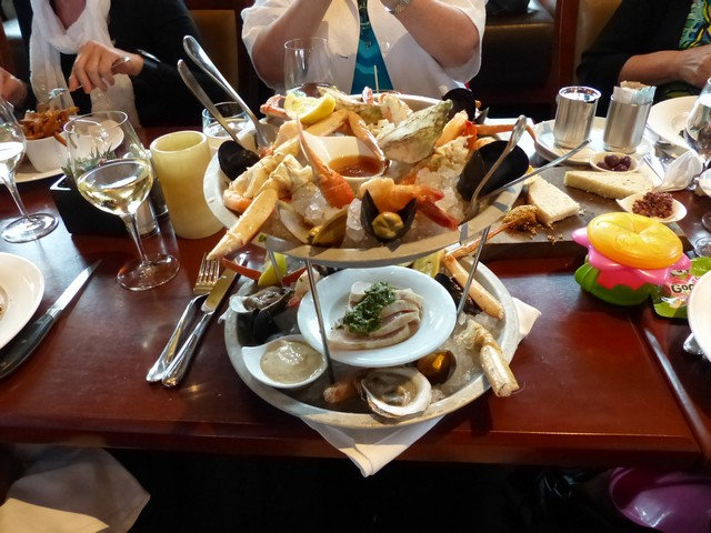 Photo of seafood stack