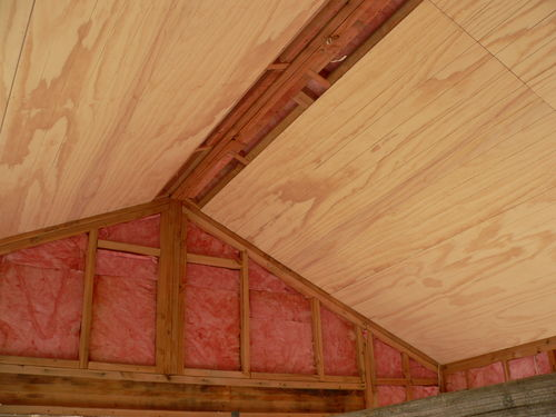 Photo of ply on ceiling