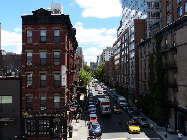 Street view from Highline walk