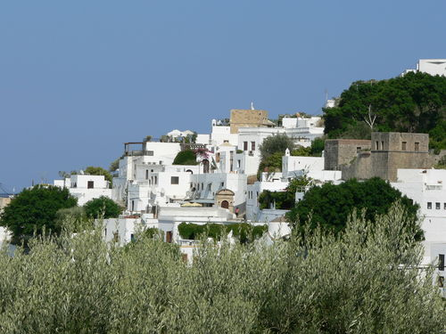 White houses in Lindos